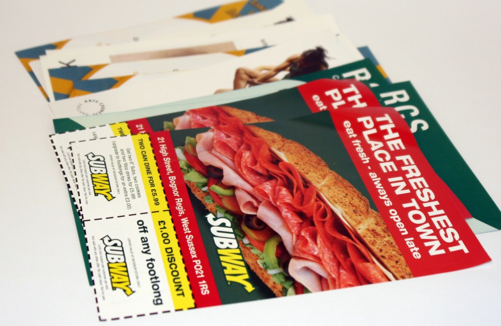 Free posters with any flyer or leaflet order