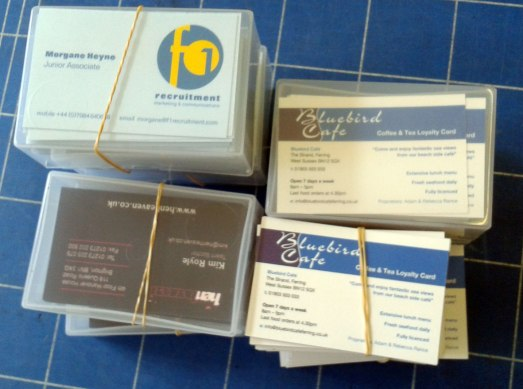 Get business cards at PEP the Printers