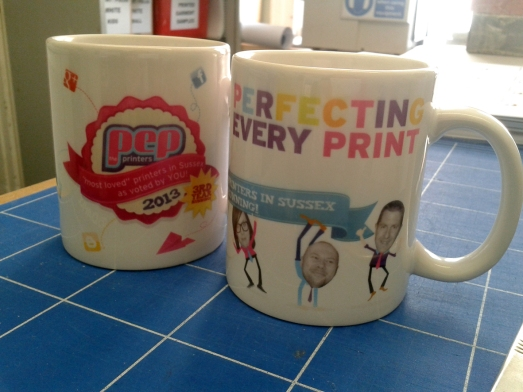 Buy printed mugs at PEP the Printers