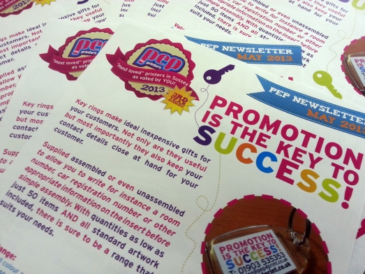Printed Promo Items